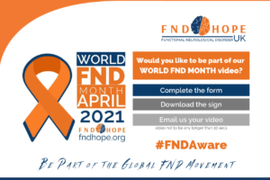 Want to be part of our WORLD FND Month video?